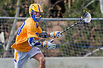 Los Angeles, CA 02-26-17 - Casey Mix (UCSB #38) in action during the MCLA conference game between LMU and UC Santa Barbara.  Santa Barbara defeated LMU 15-0.