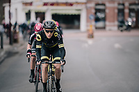 Niki Terpstra (NED/Direct Energie) at the front<br /> <br /> 51th Le Samyn 2019 <br /> Quaregnon to Dour (BEL): 200km<br /> <br /> ©kramon