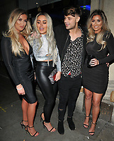 Marnie Simpson, Casey Johnson and guests at the In The Style TOTES OVER IT Valentine's Party, Libertine, Winsley Street, London, England, UK, on Thursday 08 February 2018.<br /> CAP/CAN<br /> &copy;CAN/Capital Pictures