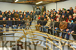 Kerry farmers attending the Beef Plan meeting in the Castleisland Mart on Monday night.