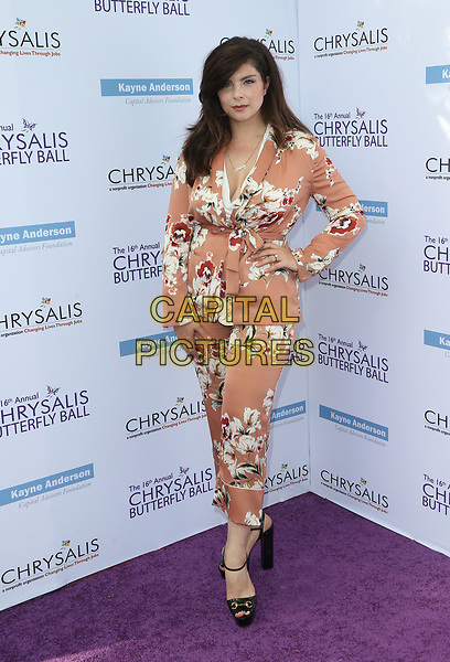 BRENTWOOD, CA June 03- Daisy O'Dell, at 16th Annual Chrysalis Butterfly Ball at Private Residence, California on June 03, 2017. Credit: Faye Sadou/MediaPunch<br /> CAP/MPI/FS<br /> &copy;FS/MPI/Capital Pictures