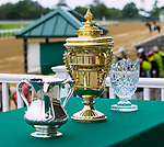 OCTOBER 6, 2018 : Trophy for Champagne Stakes on Champagne Stakes Day at Belmont Park on October 6, 2018 in Elmont, NY.  Sue Kawczynski/ESW/CSM