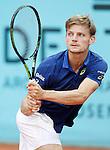David Goffin, Belgium, during Madrid Open Tennis 2016 match.May, 2, 2016.(ALTERPHOTOS/Acero)
