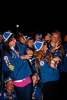 Audience during the closing ceremony - Finnland. Photo: André Jörg/Scouterna