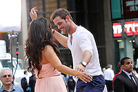 May 23, 2012 Cheryl Burke and William Levy of Dancing with the Stars at Good Morning America at Times Square in New York City. Credit: Roger Wong/MediaPunch Inc.