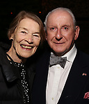 """Glenda Jackson and Lionel Larner  during the Opening Night After Party for """"Three Tall Women"""" at the Bowery Hotel on 3/29/2018 in New York City."""