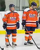 Alexander Molnar (Salem State - 17), Dan Rowland (Salem State - 16) - The visiting Salem State University Vikings defeated the Plymouth State University Panthers 5-2 on Thursday, November 18, 2010, at Hanaway Rink in Plymouth, New Hampshire.