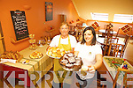 IT'S 100% GLUTEN FREE: Doireann Barrett from The Gluten Free Kitchen Company, pictured with Kathleen Collins, opened the first all gluten free cafe in Tralee on Thursday last.