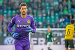 Aus 1. BL Saison 2018/19 VfL Wolfsburg gegegn Borussia Dortmund 0:1 am 03.11.208. Im Foto: BVB TW Roman Bürki 1 vorm Anpfiff<br />