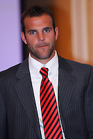 DC United defender Daniel Woolard, at the 2011 Season Kick off Luncheon, at the Marriott Hotel in Washington DC, Wednesday March 16 2011.