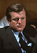 "Washington, DC - (FILE) -- United States Senator Edward M. ""Ted"" Kennedy (Democrat of Massachusetts) at a Senate Committee hearing circa February, 1969..Credit: Arnie Sachs / CNP"