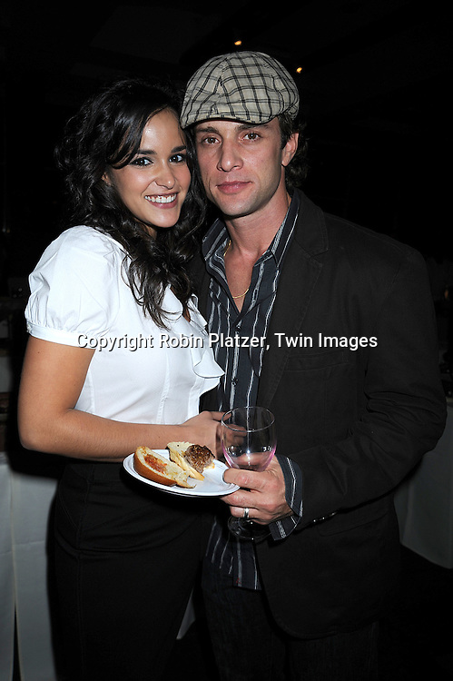 One Life To Live's Melissa Fumero, David Fumero ..at The League for the Hard of Hearing's 16th Annual Feast with Famous Faces Benefit on October 27, 2008 at Pier Sixty at Chelsea Piers.....Robin Platzer, Twin Images