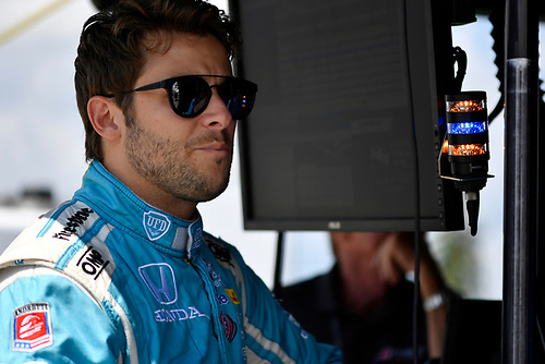 20-21 August, 2016, Long Pond, Pennsylvania USA<br /> Marco Andretti<br /> ©2016, Scott R LePage <br /> LAT Photo USA