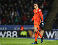 Manchester City's Arijanet Muric <br /> <br /> Photographer Andrew Kearns/CameraSport<br /> <br /> English League Cup - Carabao Cup Quarter Final - Leicester City v Manchester City - Tuesday 18th December 2018 - King Power Stadium - Leicester<br />  <br /> World Copyright © 2018 CameraSport. All rights reserved. 43 Linden Ave. Countesthorpe. Leicester. England. LE8 5PG - Tel: +44 (0) 116 277 4147 - admin@camerasport.com - www.camerasport.com
