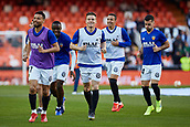 17th March 2019, Mestalla Stadium, Valencia, Spain; La Liga football, Valencia versus Getafe; Valencia Players warm up prior to the game