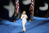 PHILADELPHIA, PA - JULY 28: Hillary Clinton pictured at The 2016 Democratic National Convention day 4 at The Wells Fargo Center in Philadelphia, Pennsylvania on July 28, 2016. Credit: Star Shooter/MediaPunch