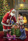 Marcello, CHRISTMAS SANTA, SNOWMAN, WEIHNACHTSMÄNNER, SCHNEEMÄNNER, PAPÁ NOEL, MUÑECOS DE NIEVE,classical Santas,African American paintings+++++,ITMCXM2116,#x#