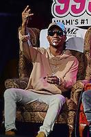 FORT LAUDERDALE FL - AUGUST 17: Swae Lee and Slim Jimmy of Rae Sremmurd pictured during 99 Jamz Uncensored at Revolution on August 17, 2016 in Fort Lauderdale, Florida. Credit: mpi04/MediaPunch
