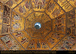 13th c Ceiling Mosaics detail Choir of Angels section Baptistry of San Giovanni Florence