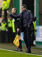 23rd November 2019; Easter Road, Edinburgh, Scotland; Scottish Premiership Football, Hibernian versus Motherwell; Jack Ross Hibernian Manager on the touchline - Editorial Use