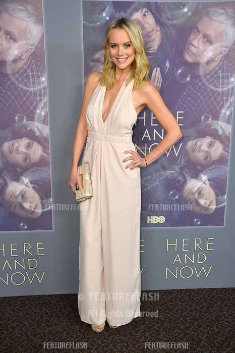 Helena Mattsson at the premiere for HBO's &quot;Here and Now&quot; at The Directors Guild of America, Los Angeles, USA 05 Feb. 2018<br /> Picture: Paul Smith/Featureflash/SilverHub 0208 004 5359 sales@silverhubmedia.com
