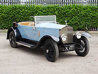 Rolls belonging to WWI hero who also played first class cricket and football for sale for £45,000.