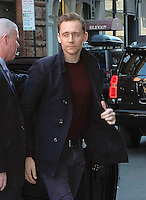 www.acepixs.com<br /> <br /> March 6 2017, New York City<br /> <br /> Tom Hiddleston made an appearance at AOL Build on March 6 2017 in New York City<br /> <br /> By Line: Curtis Means/ACE Pictures<br /> <br /> <br /> ACE Pictures Inc<br /> Tel: 6467670430<br /> Email: info@acepixs.com<br /> www.acepixs.com
