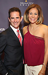 Andy Blankenbuehler and Elly Blankenbuehler attend the 2017 Drama Desk Awards at Town Hall on June 4, 2017 in New York City.