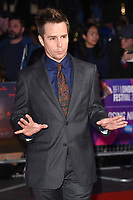 "Sam Rockwell<br /> arriving for the London Film Festival 2017 closing gala of ""Three Billboards"" at Odeon Leicester Square, London<br /> <br /> <br /> ©Ash Knotek  D3337  15/10/2017"