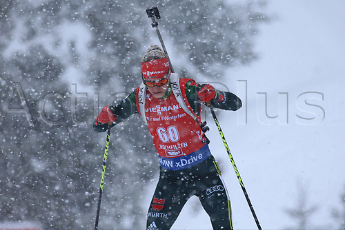 8th December 2017, Biathlon Centre, Hochfilzen, Austria; IBU Womens Biathlon World Cup; Maren Hammerschmidt