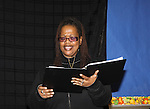 "KimDeon is an actress in the play - Evern Gillard-Randolph, playwright and founder of Grandparents Around the World, presents her new play ""To Do List"" in a first play reading on December 7, 2013 at the Salvation Army Harlem Corps, New York, New York.  (Photo by Sue Coflin/Max Photos)"
