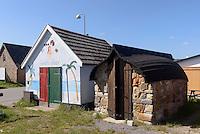 R&auml;ucherei Hasle R&oslash;geri auf der Insel Bornholm, D&auml;nemark, Europa<br /> smoke house Hasle R&oslash;geri, Isle of Bornholm Denmark