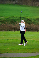 Matilda Cederholm (Sweden) during the Irish Girls' Open Stroke Play Championship, Roganstown Golf Club, Swords, Ireland. 13/04/2018.<br />