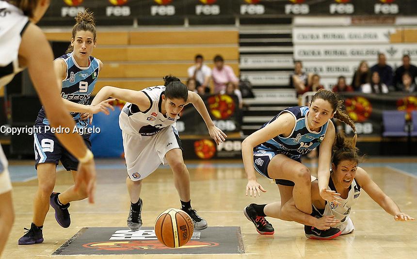 Fecha: 26-04-2015. Lugo.- Pazo de los Deportes de Lugo.- Baloncesto Femenino 2.- Semifinales 17:00 h.- Leganes - Plenilunio