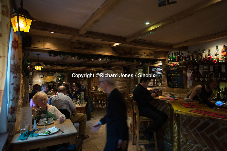 The Plough at Cadsden, Buckinghamshire. Thee pub was bought by a Chinese business after it was visited by Chinese Premiere Ji Jinping last year, and aim to develop  a chain of English-style pubs China.<br /> <br /> Photo by Richard Jones