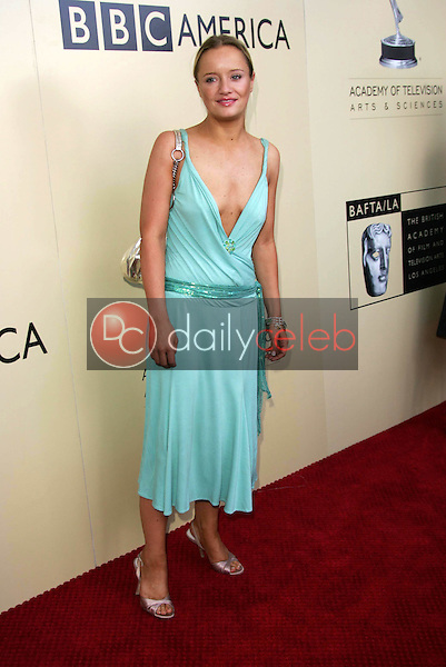 Lucy Davis<br /> At the 3rd Annual BAFTA LA and Academy of Television Arts and Sciences Emmy Nominee's Tea Party, Park Hyatt Hotel, Century City, CA 09-17-05<br /> David Edwards/DailyCeleb.Com 818-249-4998