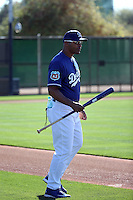 George Lombard (coach) - Los Angeles Dodgers 2016 spring training (Bill Mitchell)