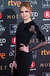 Cristina Castano attends red carpet of Goya Cinema Awards 2018 at Madrid Marriott Auditorium in Madrid , Spain. February 03, 2018. (ALTERPHOTOS/Borja B.Hojas)