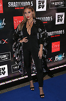 06 August 2017 - Las Vegas, NV -  Cassie Scerbo.  Sharknado 5 Global Swarming red carpet premiere at Linq Hotel and Casino. Photo Credit: MJT/AdMedia