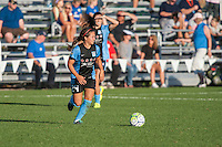 Kansas City, MO - Sunday September 11, 2016: Danielle Colaprico during a regular season National Women's Soccer League (NWSL) match between FC Kansas City and the Chicago Red Stars at Swope Soccer Village.