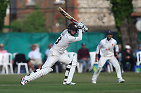 Gareth Batty in batting action for Surrey during Surrey CCC vs Essex CCC, Specsavers County Championship Division 1 Cricket at Guildford CC, The Sports Ground on 11th June 2017