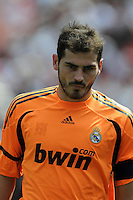Real Madrid goalkeeper/captain Iker Casillas (1).  Real Madrid defeated DC United 3-0 at FedEx Field, Sunday August 9, 2009 in an International Friendly.