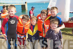 PALS: Great young pals from Lixnaw, who went out on the boat trip to mark Tralee Sailing Club, Fenit Open Day, l-r: Padraig Shanahan, Daniel,Sean,Padraig Hunt, Eamon and Michael Shanahan.................................................................... ........