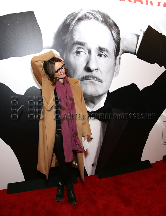 Tina Fey attends the Broadway Opening Night Performance of 'Present Laughter' at St. James Theatreon April 5, 2017 in New York City
