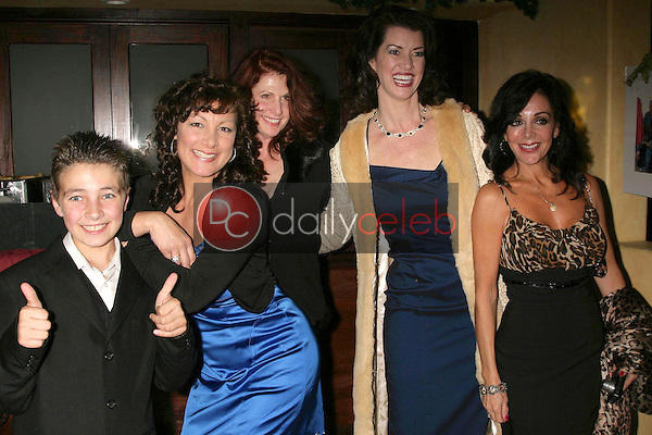 Mimi Lesseos and family <br /> at the Los Angeles Screening of 'Double Duty'. Raleigh Studios, Los Angeles, CA. 12-13-08<br /> Dave Edwards/DailyCeleb.com 818-249-4998