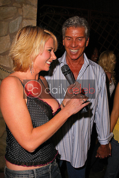 Tamie Sheffield and Michael Buffer<br /> at the Playboy July 2005 Issue Release Party for Cover Model Joanna Krupa, Montmartre Lounge, Hollywood, CA 06-15-05<br /> David Edwards/DailyCeleb.Com 818-249-4998