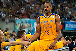 Herbalife Gran Canaria's player Eulis Baez during the final of Supercopa of Liga Endesa Madrid. September 24, Spain. 2016. (ALTERPHOTOS/BorjaB.Hojas)