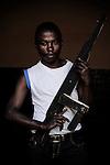 Mutuza. 16 ans. 2 ans passés dans les groupes armés. Bukavu, RDC, juillet 2013.