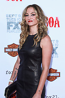 HOLLYWOOD, LOS ANGELES, CA, USA - SEPTEMBER 06: Drea de Matteo arrives at the Los Angeles Premiere Of FX's 'Sons Of Anarchy' Season 7 held at the TCL Chinese Theatre on September 6, 2014 in Hollywood, Los Angeles, California, United States. (Photo by David Acosta/Celebrity Monitor)