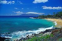 Little beach known also as baby beach, Makena, Maui
